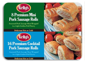 Sulphur labelling missing on Kelly's Sausage Rolls Aldi